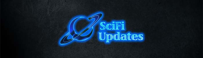 SciFi Updates Logo on Slate